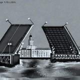 Дворцовый Мост в Санкт - Петербурге