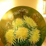 Хризантемы (масло)
