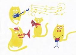 Музыкальные коты
