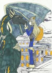 Лиса и дракон